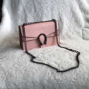 Gucci Leather Bag pink